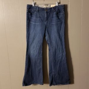 GAP Limited Edition Flare Jeans Size 14
